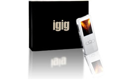 Igig MP3 player with 500 persian songs inside